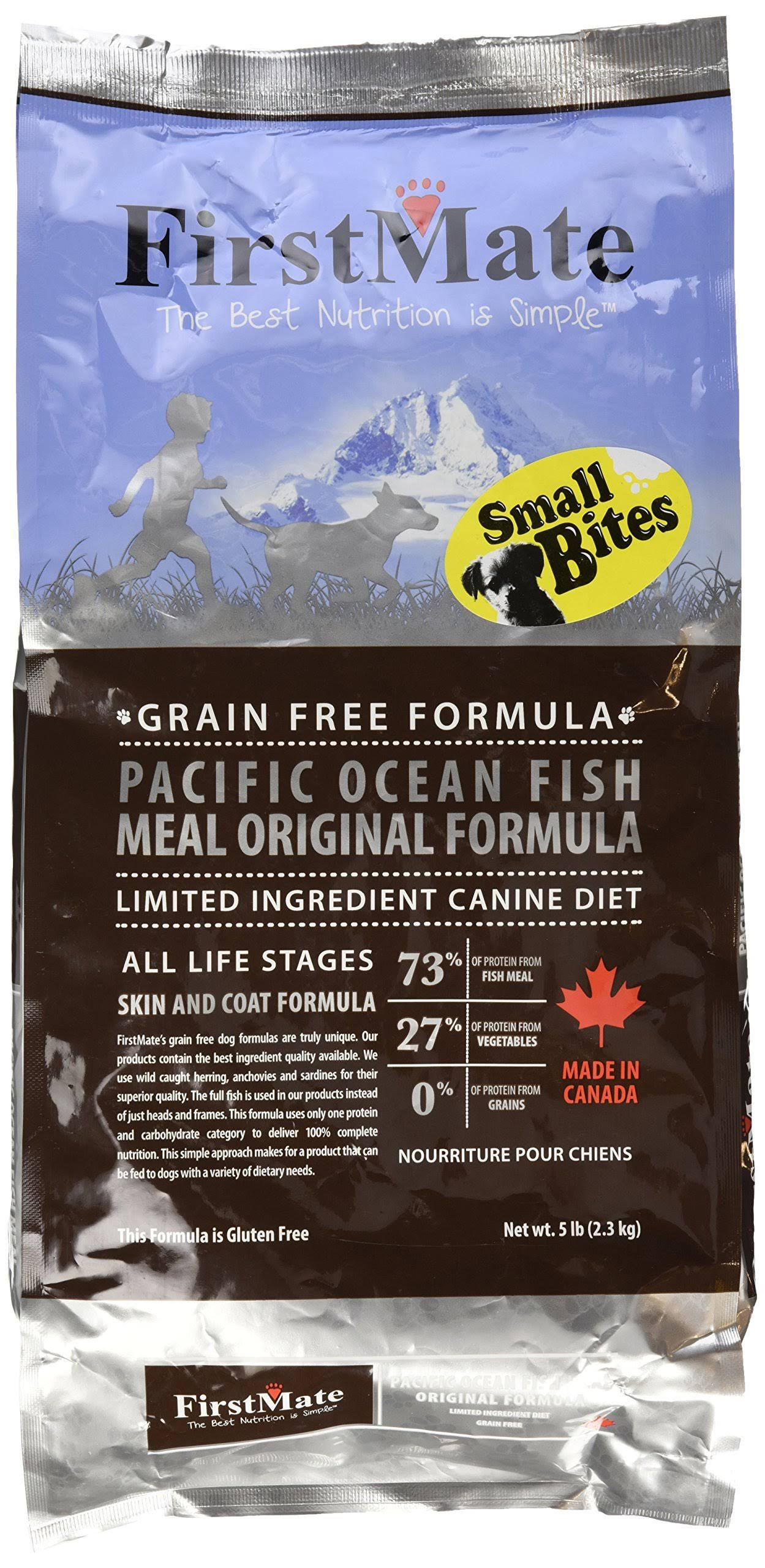 FirstMate Pacific Ocean Fish Meal Small Bites 5 lb Bag
