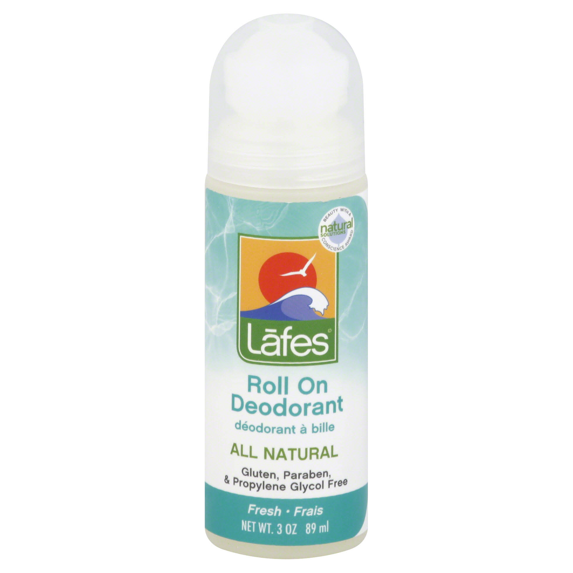 Lafe's Roll On Deodorant - Fresh, 89ml