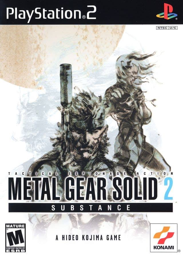 Metal Gear Solid 2 Substance - PlayStation 2