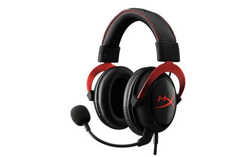 HyperX Cloud II Over-Ear Headset - Red