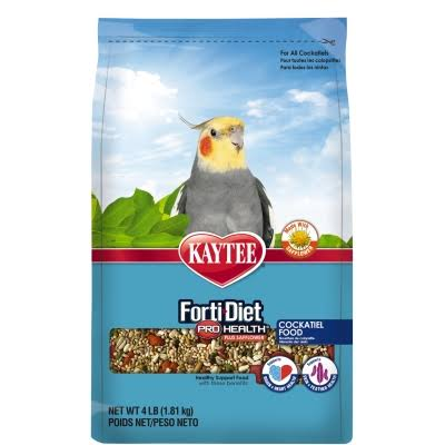 Kaytee Forti-diet Pro Health Safflower Cockatiel Food - 4lbs