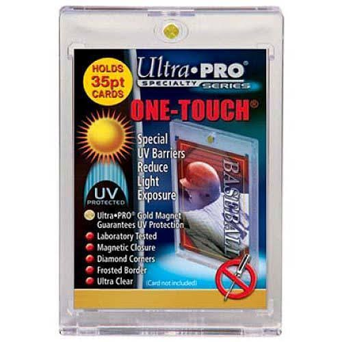 Ultra Pro One-Touch Magnet Card Holder - with UV Protection, 35pt