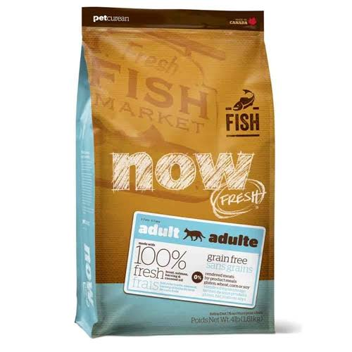 Petcurean Now Fresh Adult Cat Food - Fish