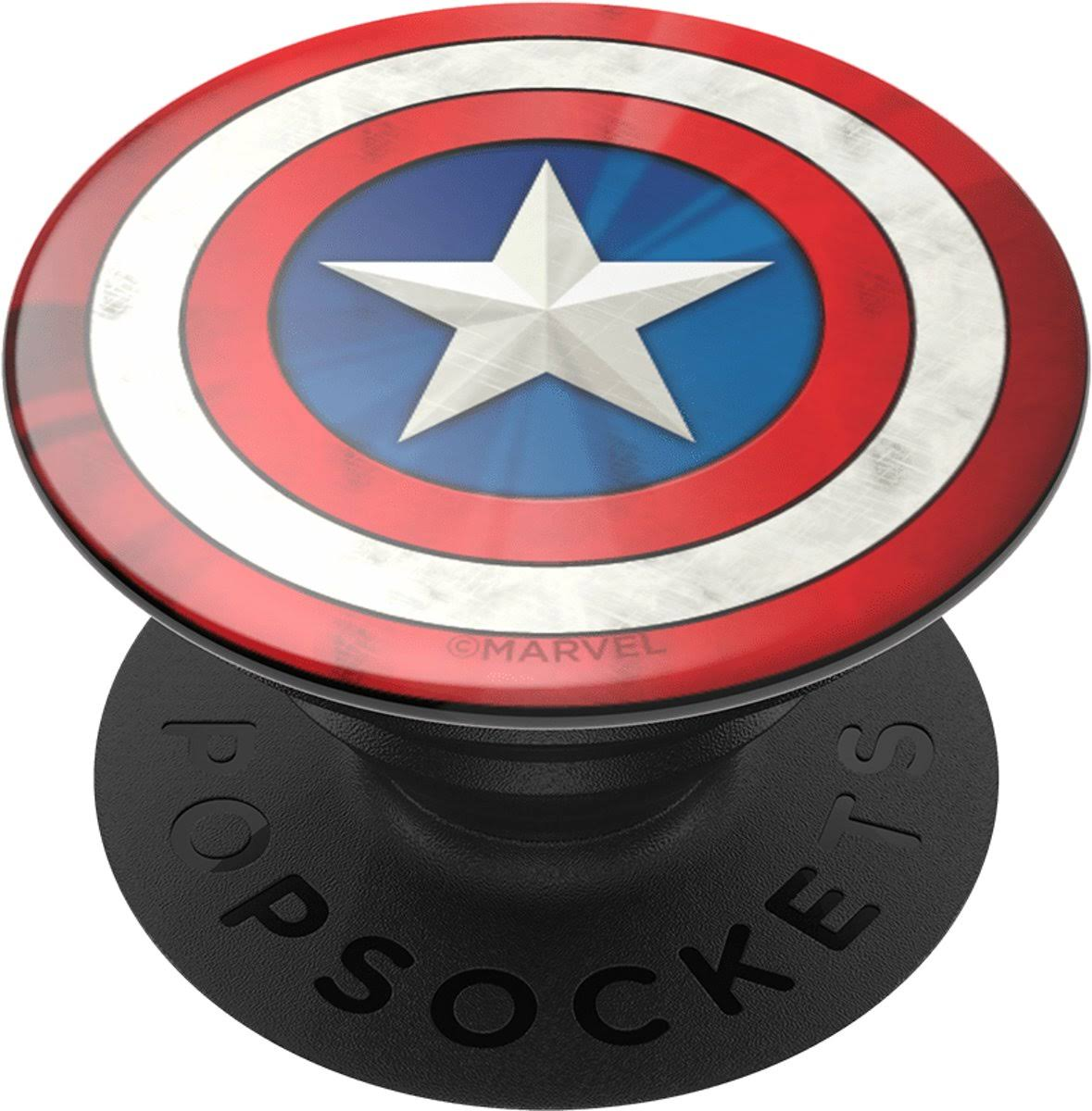 PopSockets Captain America Logo Swappable Phone Grip