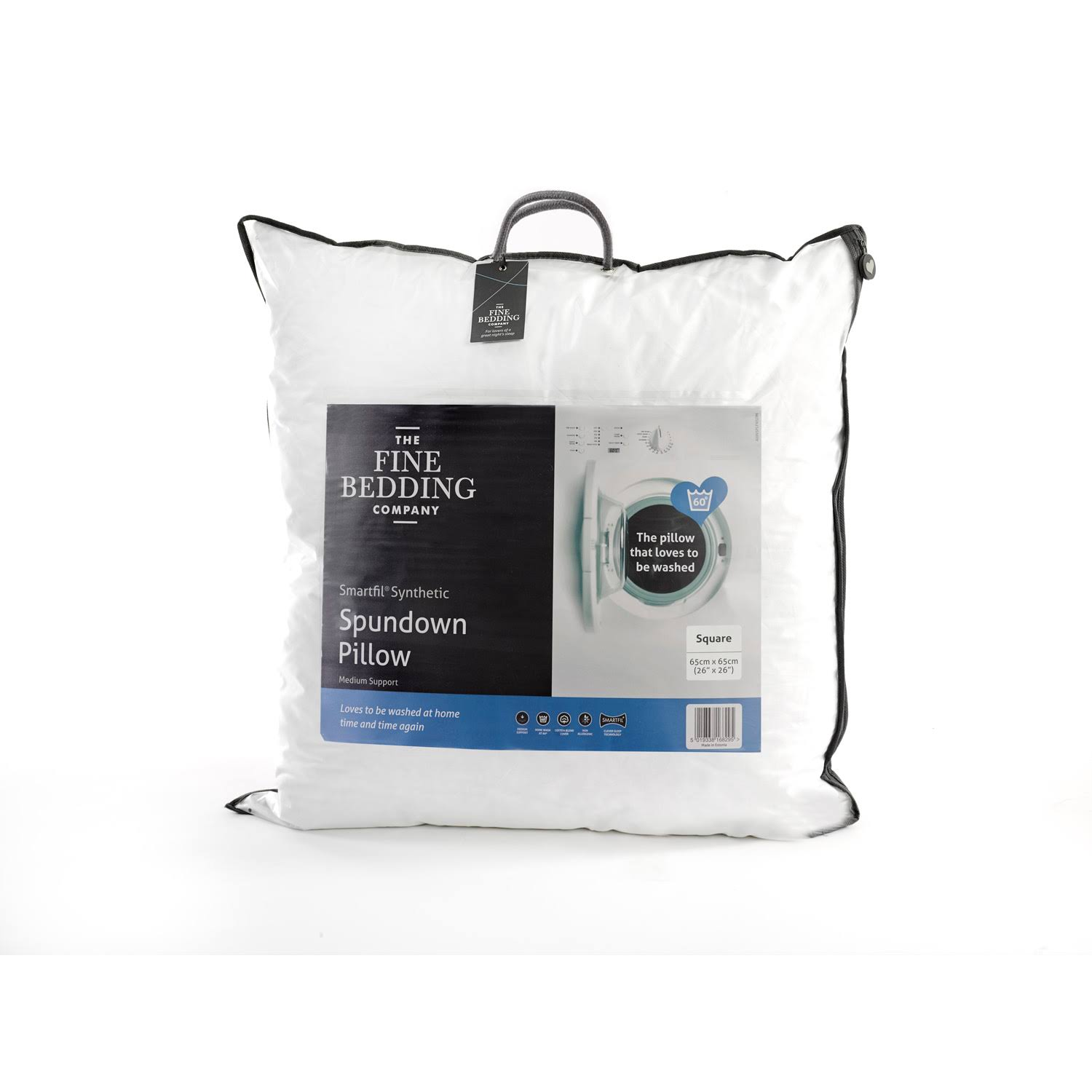 Spundown Square Synthetic Pillow by The Fine Bedding Company