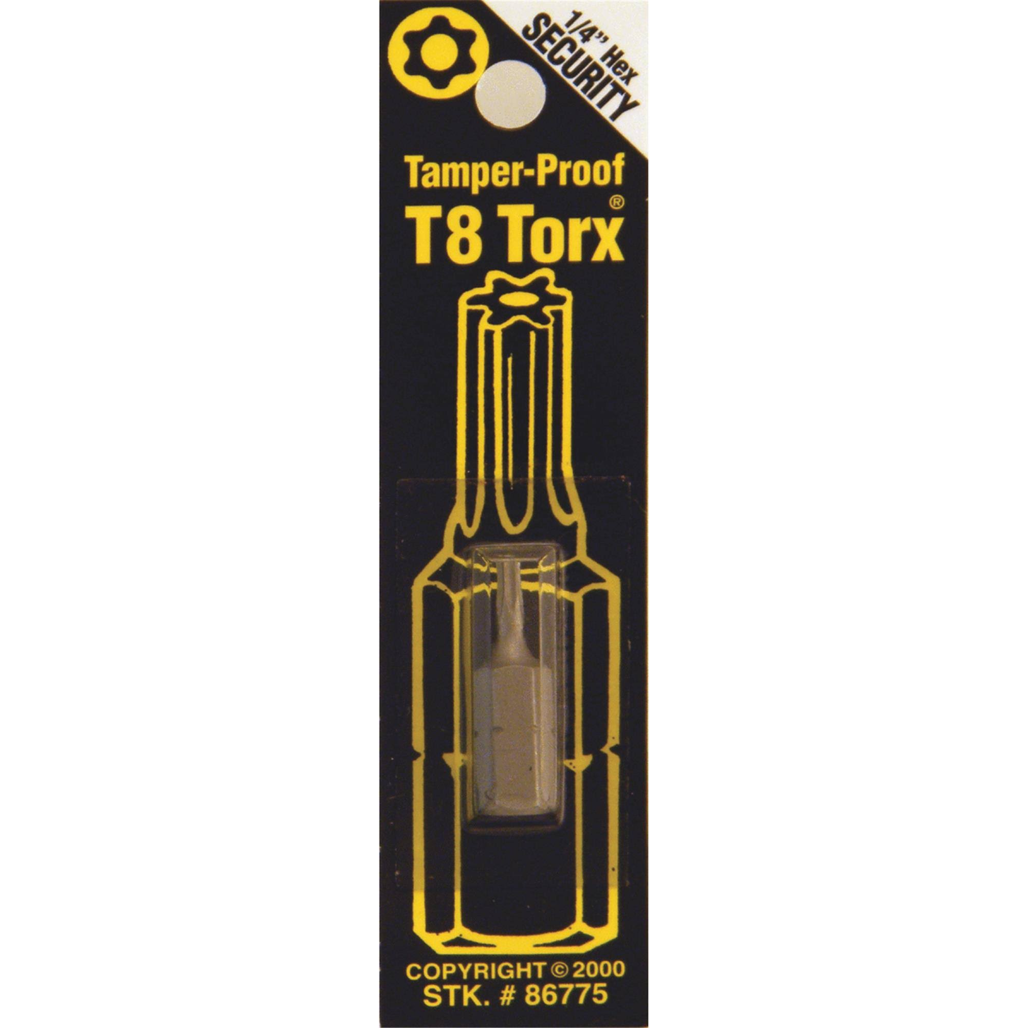 Best Way Tools T8 Security Bit