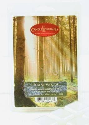 Candle Warmers 5 oz Wax Melt Serene Woods