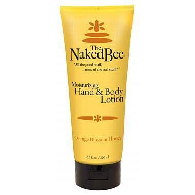 The Naked Bee Moisturizing Hand & Body Lotion - Orange Blossom Honey, 6.7Oz