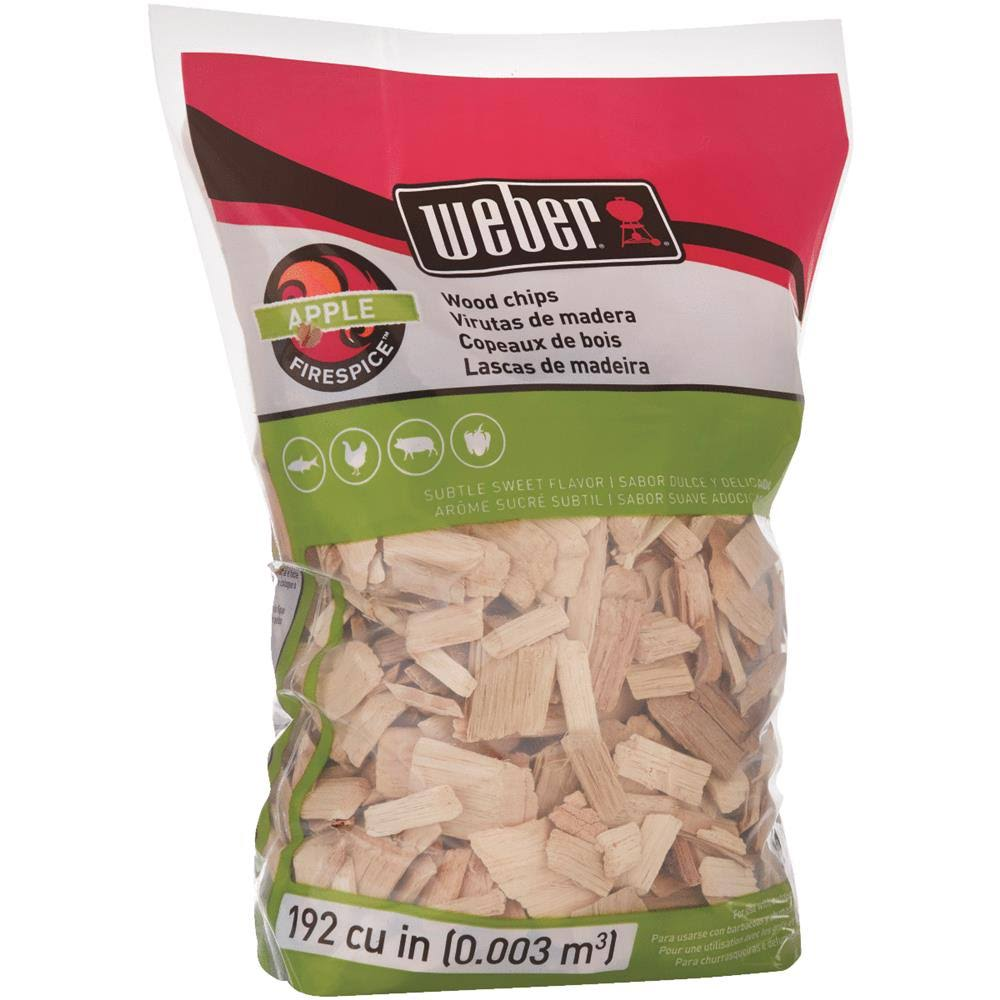Weber-Stephen Products Apple Wood Chips - 2lb