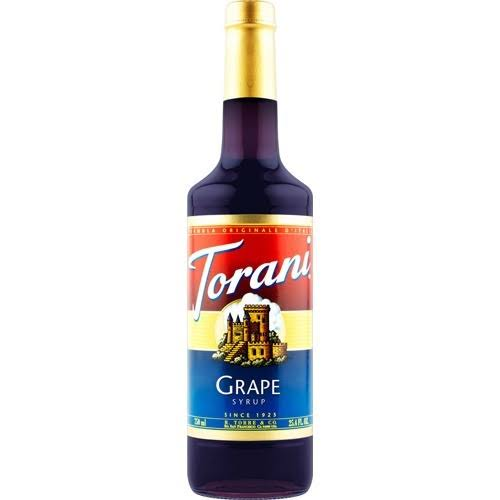 Torani Syrup - Grape, 750ml