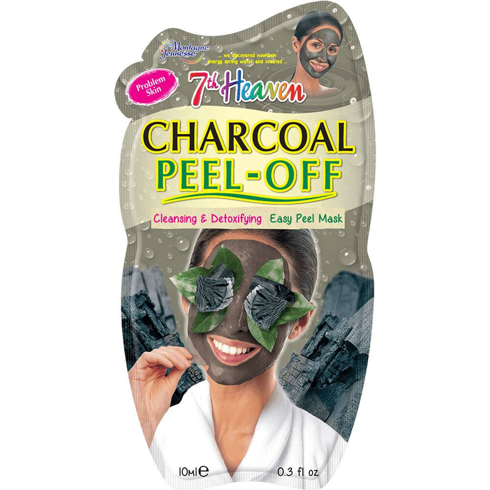 7th Heaven Charcoal Peel-Off Mask - 10ml
