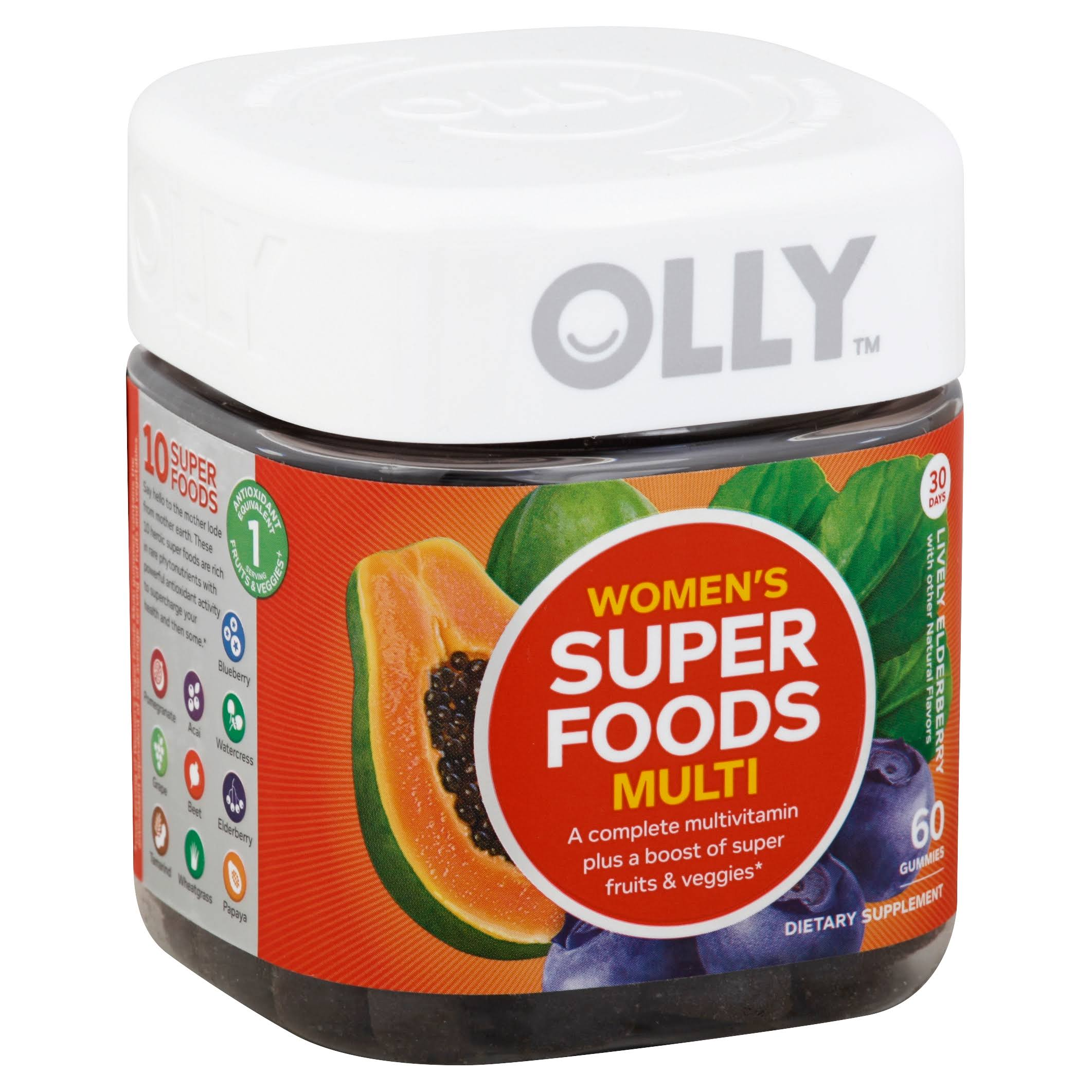 Olly Women's Super Foods Multivitamins - x60