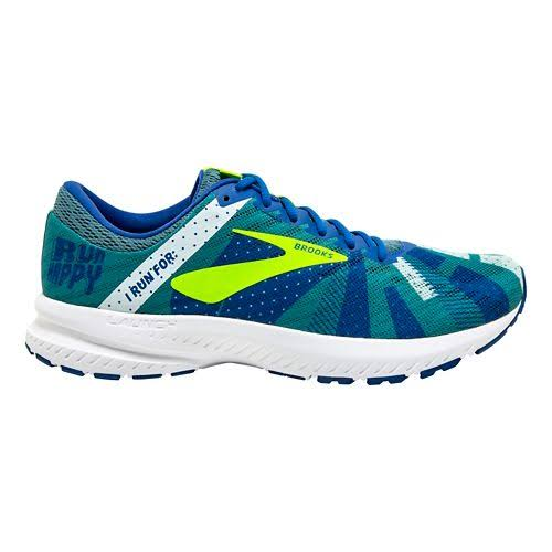 Brooks Men's Launch 6 Running Shoes, Size: 9.5, Blue