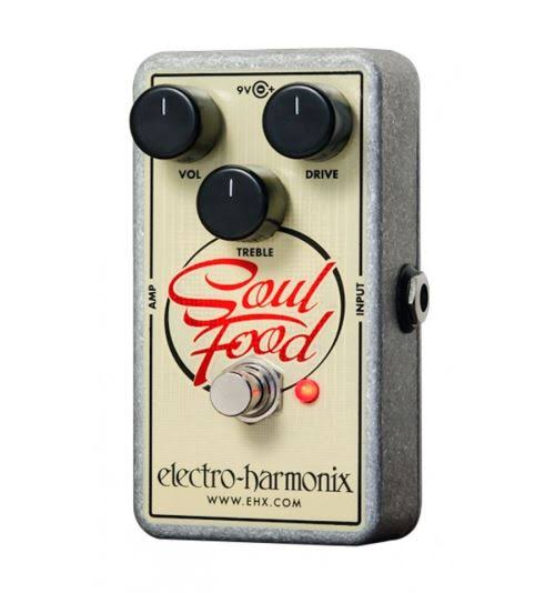 Electro Harmonix Soul Food Overdrive Instrument Guitar Effects Pedal