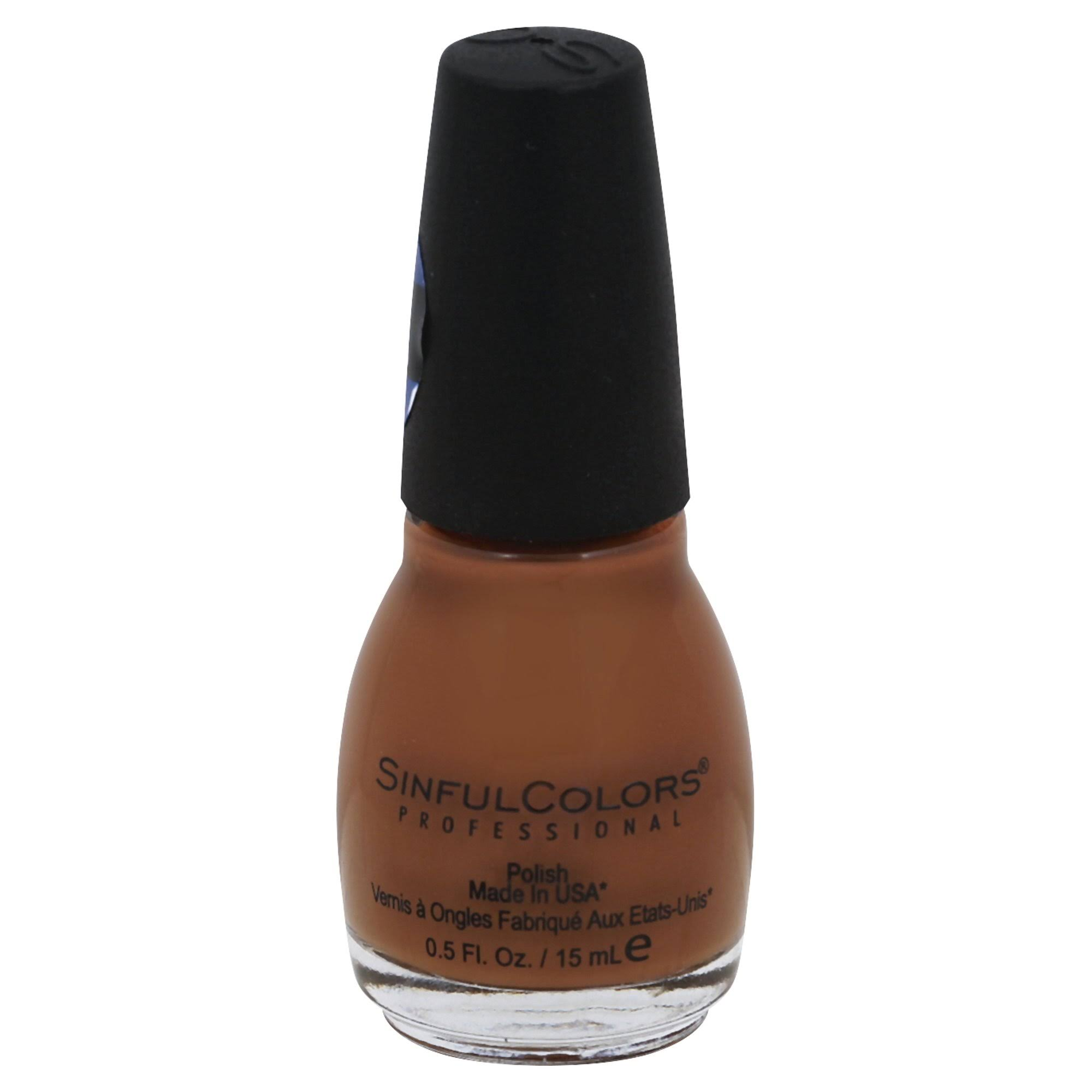 SinfulColors Professional Polish, Hot Toffee 2546 - 0.5 fl oz