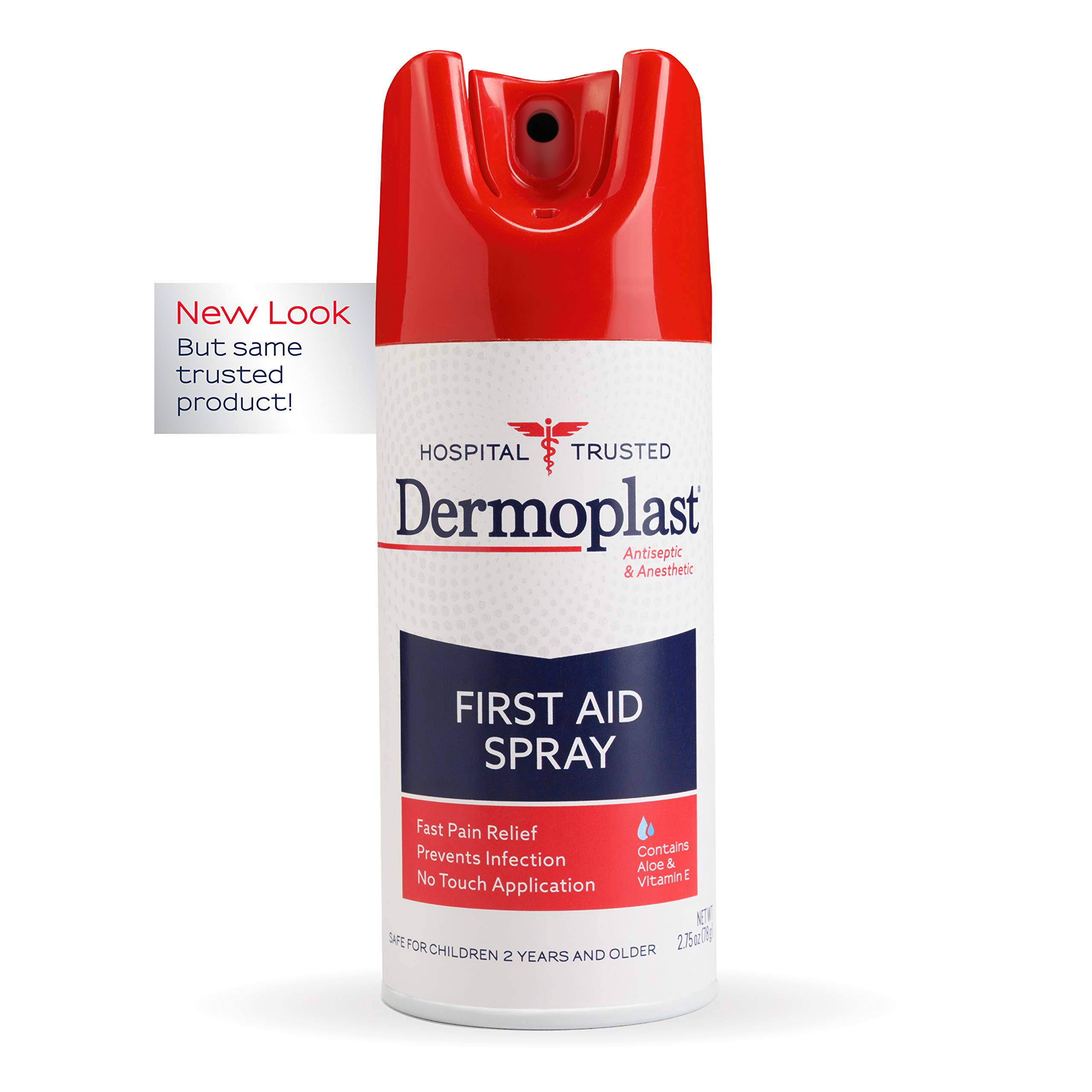 Dermoplast Antibacterial Pain and Itch Relieving Spray - 2.75oz