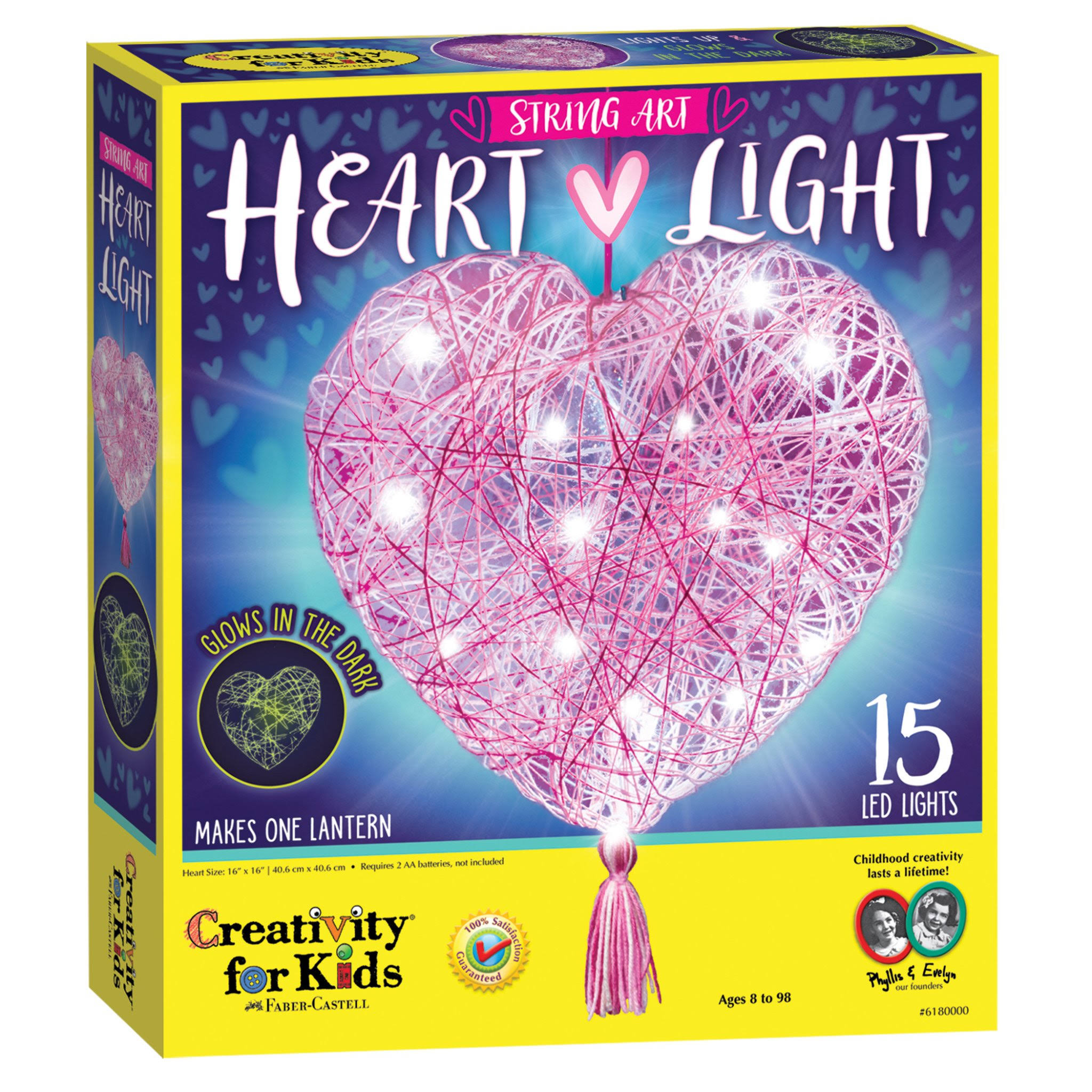 String Art Heart Light Kit