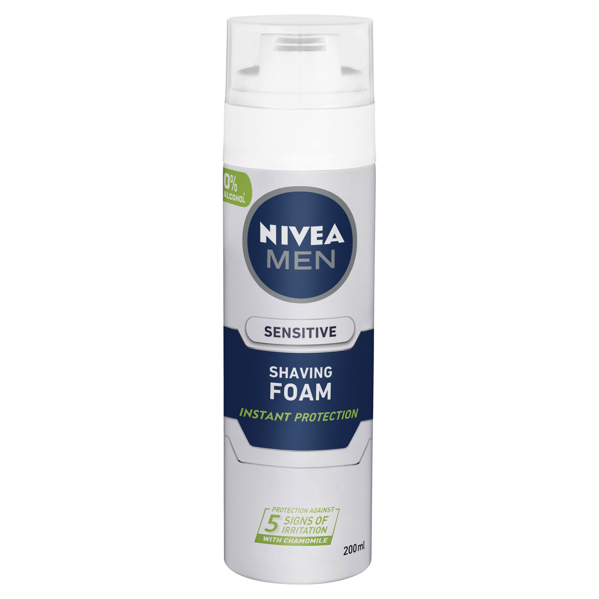 Nivea Men's Sensitive Shaving Foam - 200ml