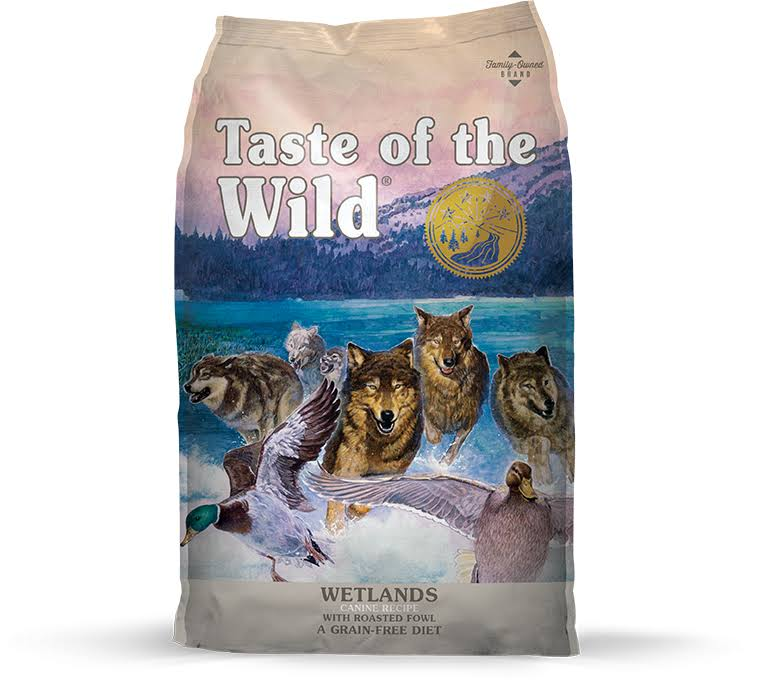 Taste of the Wild Wetlands Dog Food - Wetlands Canine Formula with Roasted Fowl