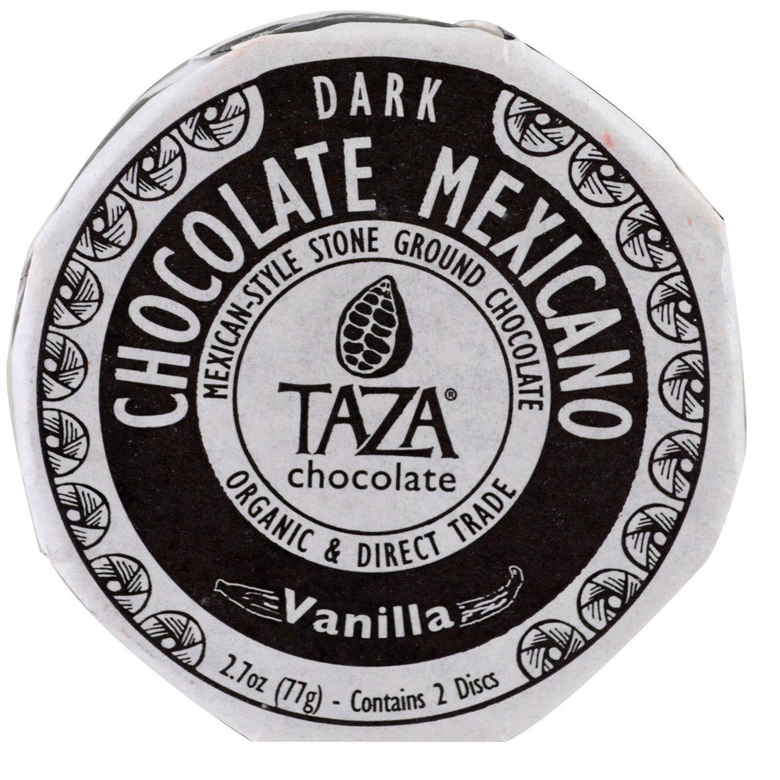 Taza Chocolate Mexicano Chocolate Disc - Vanilla, 2.7oz