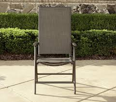 Replace Patio Sling Chair Fabric by La Z Boy Outdoor Alex High Back Sling Folding Chair Limited