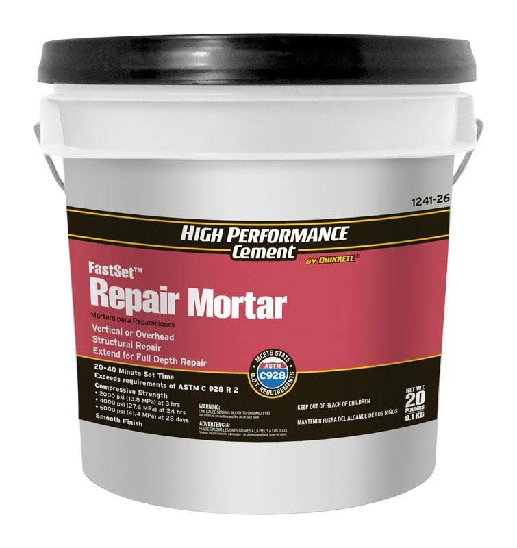 High Performance Cement Fast Setting Concrete Mix - 20lb