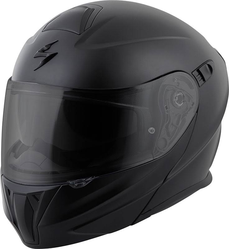 Scorpion EXO GT920 Modular Motorcycle Helmet - Solid Matte Black, X Small