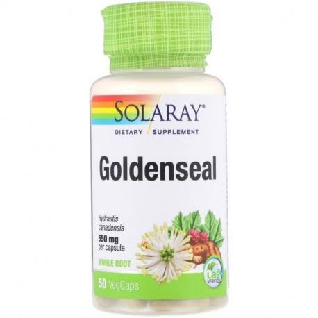 Solaray Goldenseal Root - 550mg, 50 Capsules