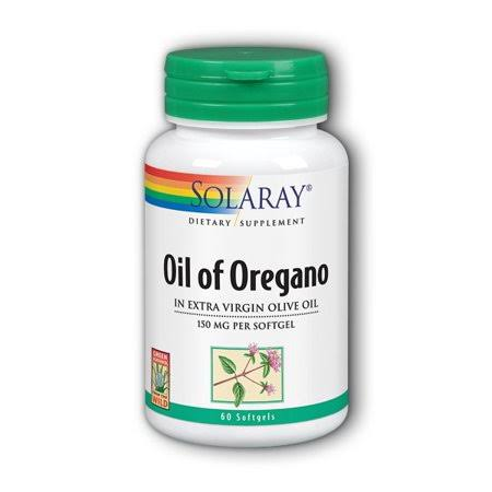 Solaray Oil of Oregano - 150 mg, 60 ct
