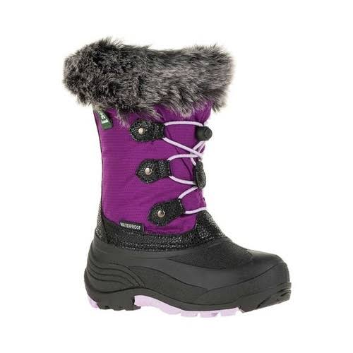 Kamik Powdery 2 Boot Little Girls', Grape, 12