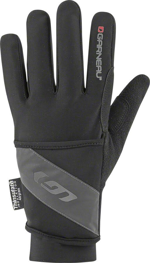 Louis Garneau Men's Super Prestige 2 Cycling Gloves - Black, M