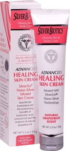 American Biotech Labs Silver Biotics Advanced Healing Skin Cream - Grapefruit, 1.2oz
