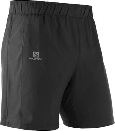 Salomon Agile 2in1 Short - Men's Black, L
