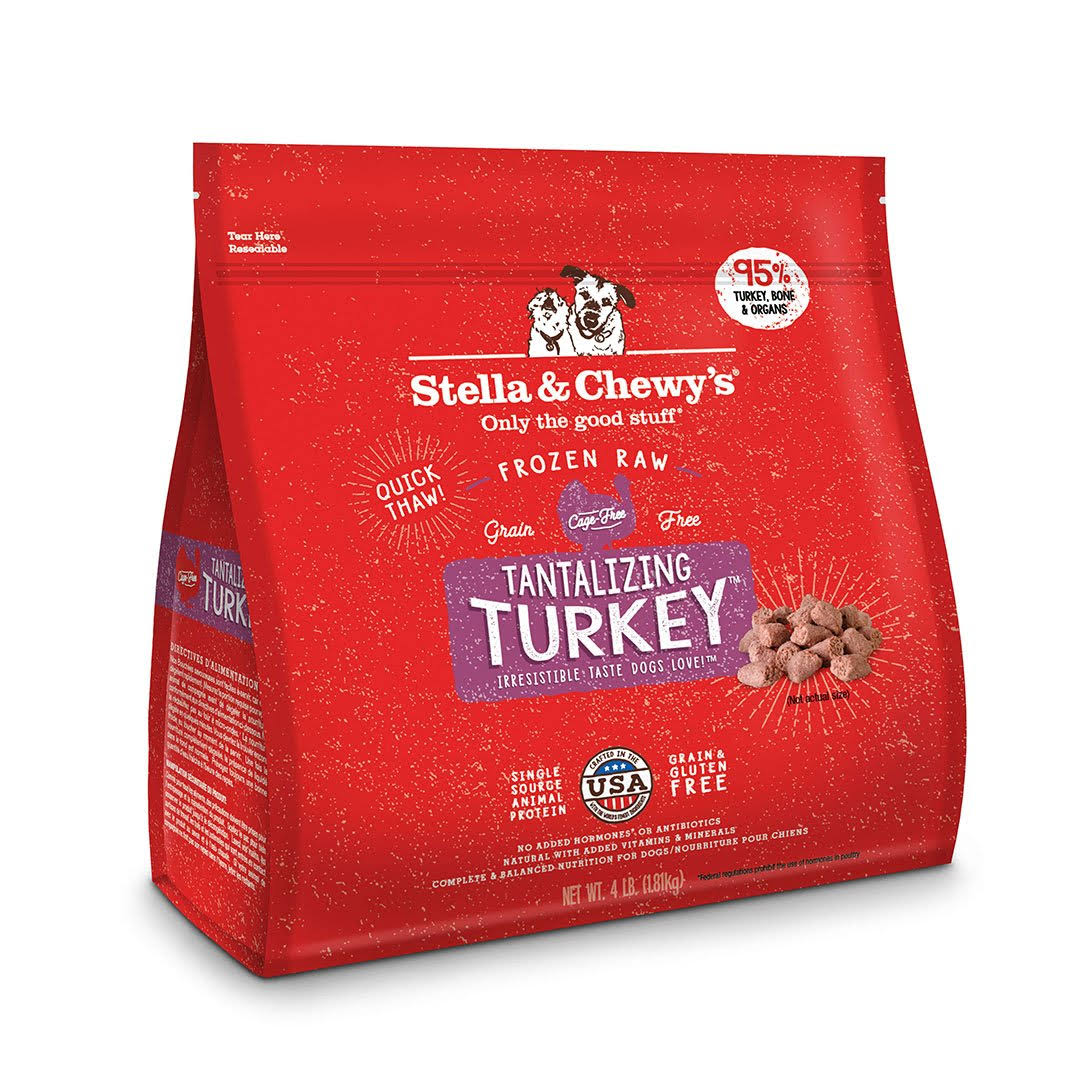 Stella & Chewy's Tantalizing Turkey Frozen Raw Dinner Morsels Dog Food