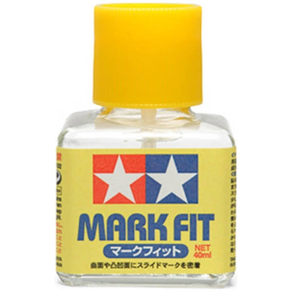 Tamiya Mark Fit Decal Softener - 40ml