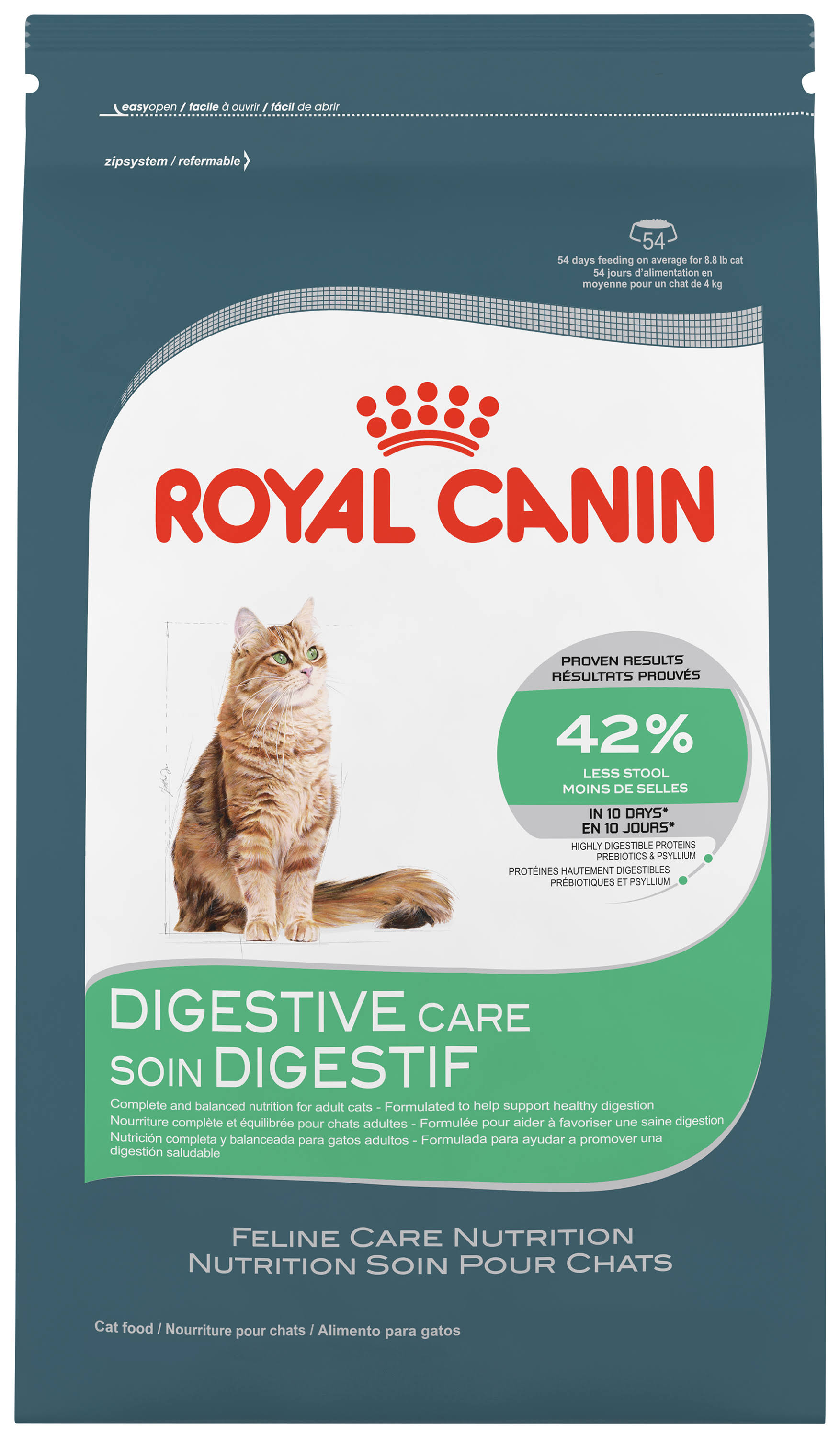 Royal Canin Feline Care Nutrition Digestive Care Adult Cat Food 14 Lb. Bag