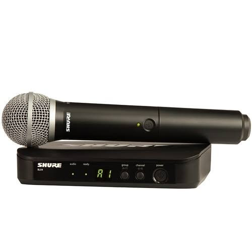 Shure BLX24/PG58 Handheld Wireless System - with PG58 Vocal Microphone, H9