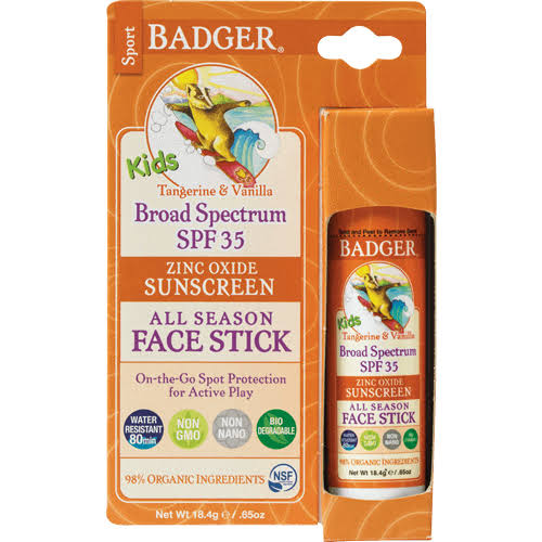 Badger Kid's Sport Sunscreen Stick - SPF 35