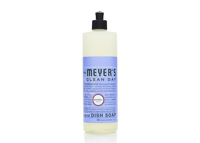 Mrs. Meyers Liquid Dish Soap - Bluebell, 473ml
