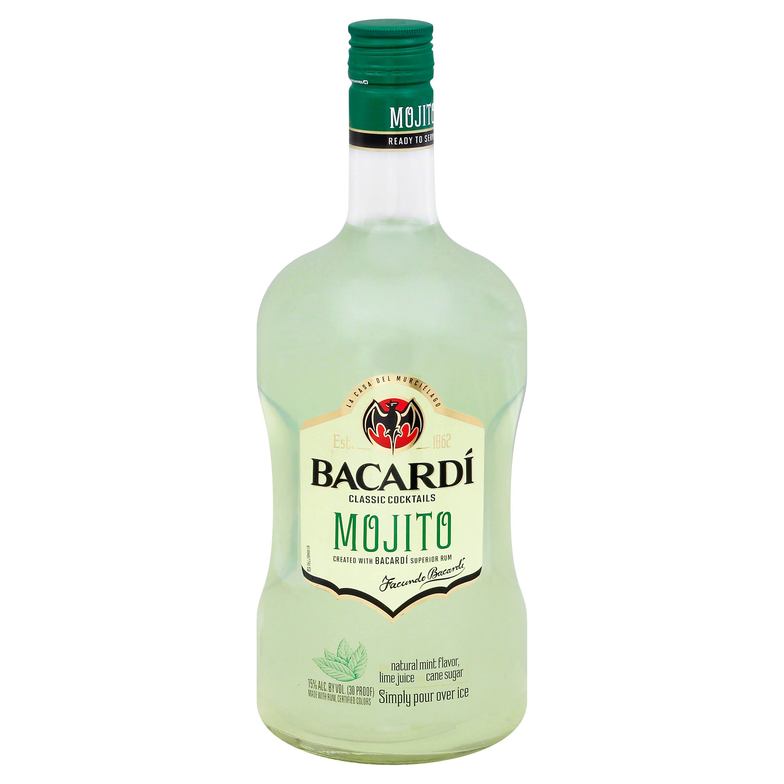Bacardi Classic Cocktails Mojito - 1.75 lt