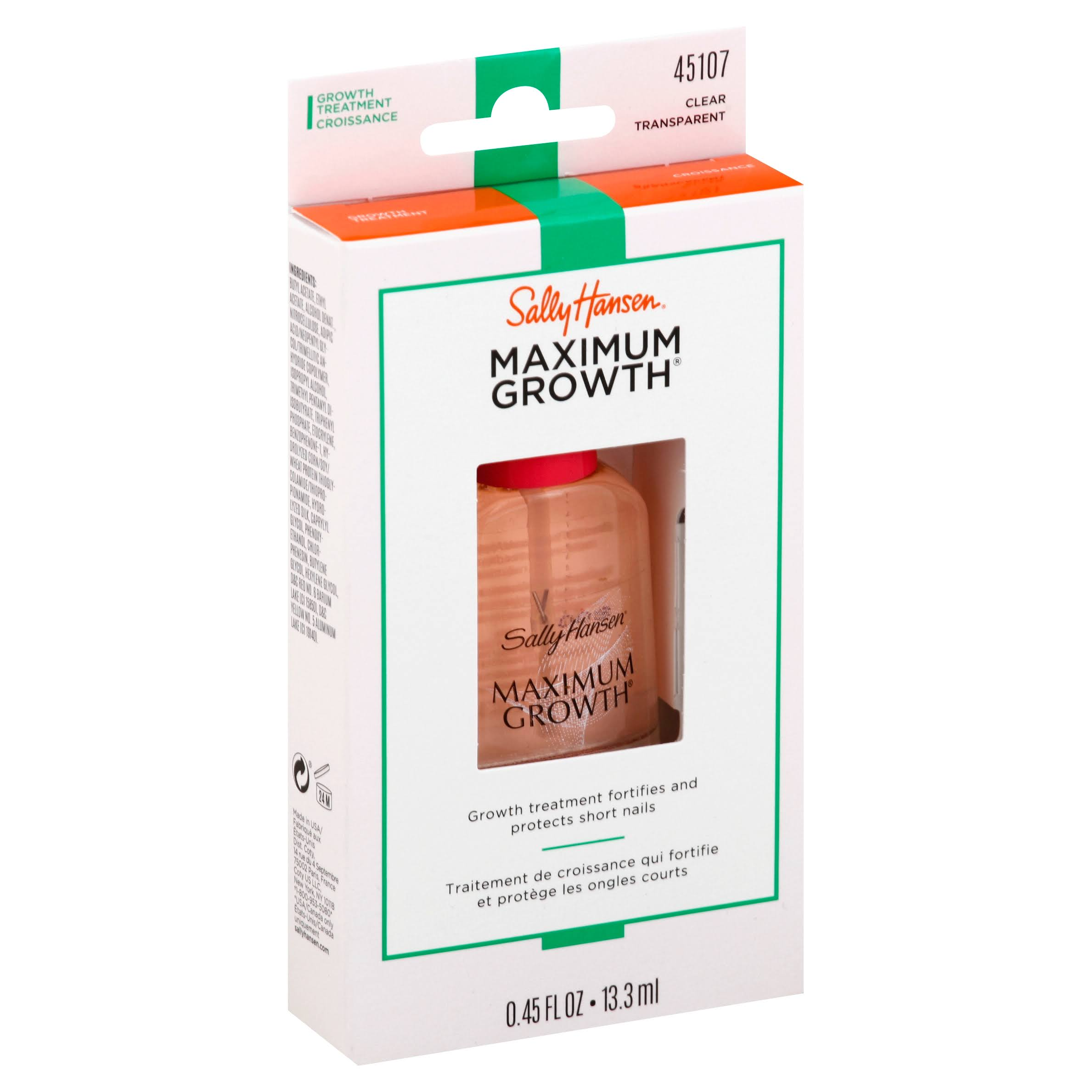 Sally Hansen Max Growth Nail Treatment - 13.3ml