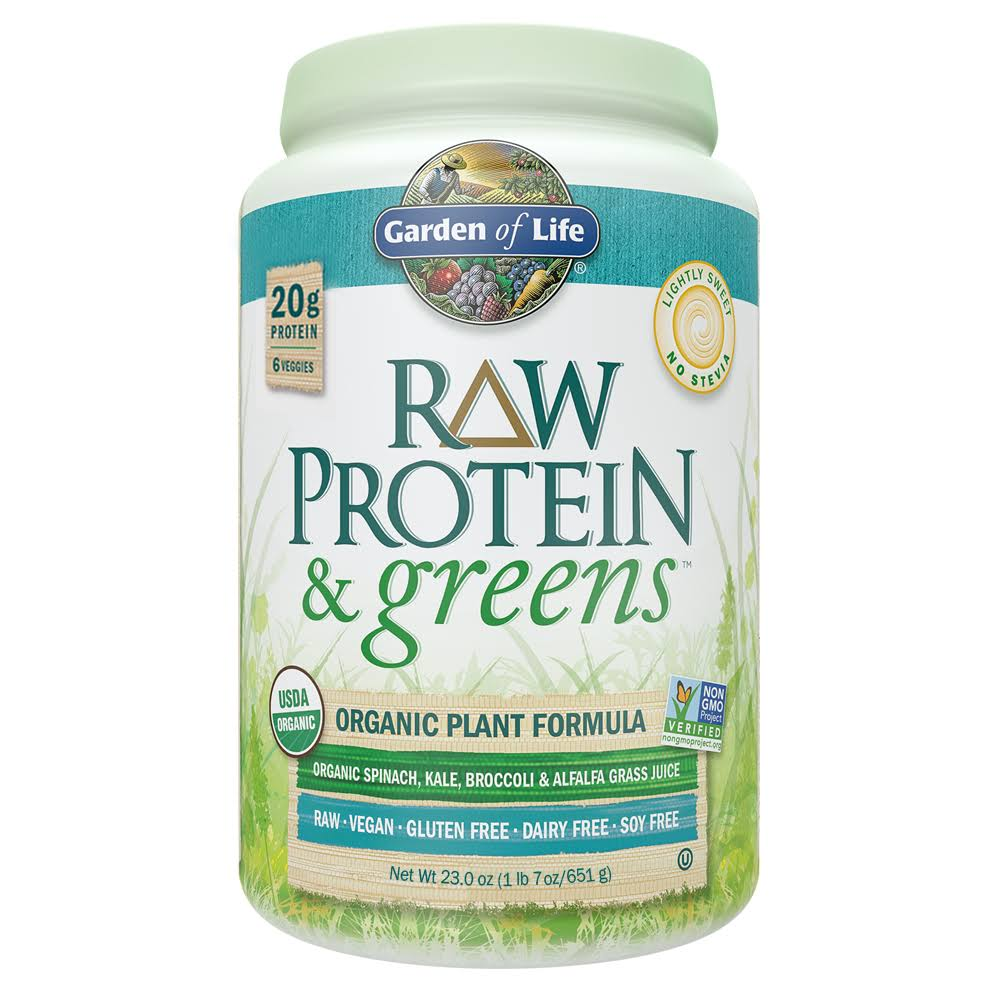 Garden of Life Raw Protein & Greens Organic Powder - 651g