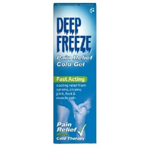Deep Freeze Pain Relief Cold Gel - with Cold Therapy, 100g