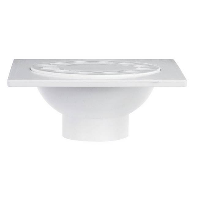 Sioux Chief 2 PPK PVC Bell Trap Drain - White
