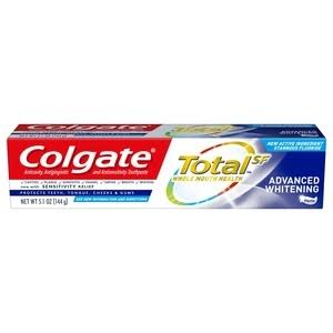 Colgate Total Toothpaste Advanced Whitening Paste - 5.1 oz