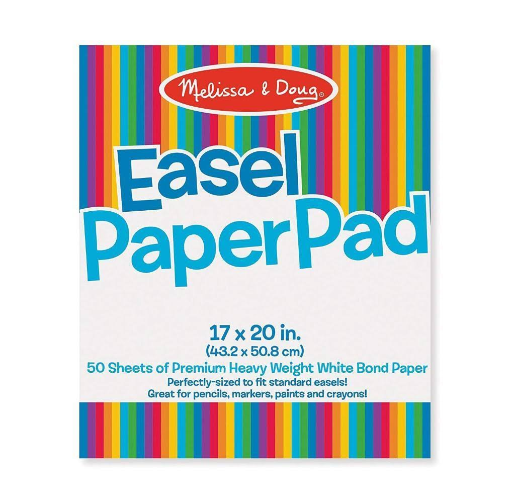 Melissa & Doug Easel Pad - 17in x 20in