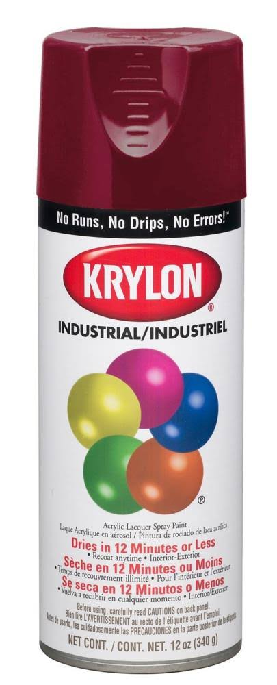 Krylon ColorMaster Spray Paint - Cherry Red