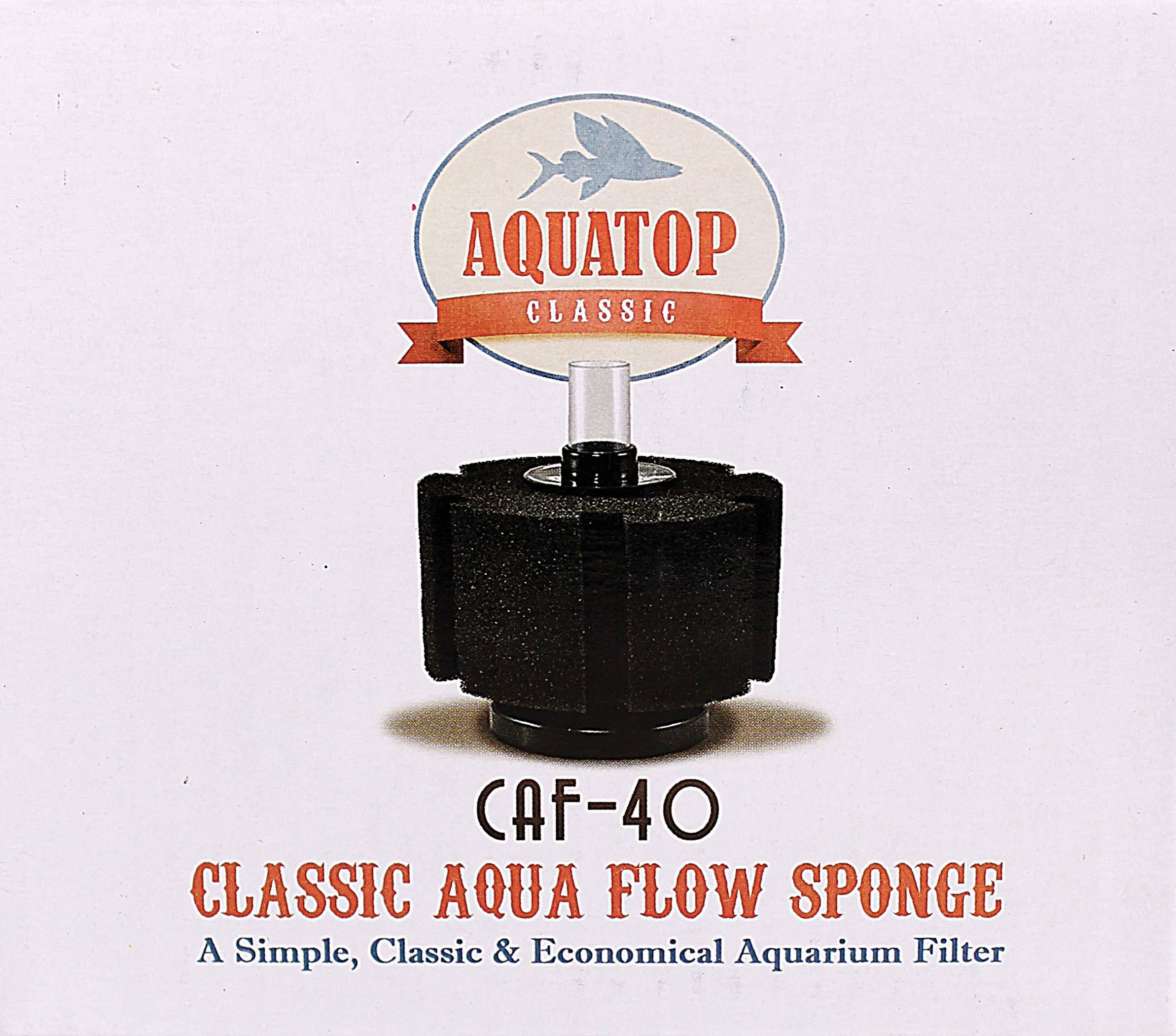 Aquatop Aquatic Supplies ClassicAqua Flow Sponge Filter