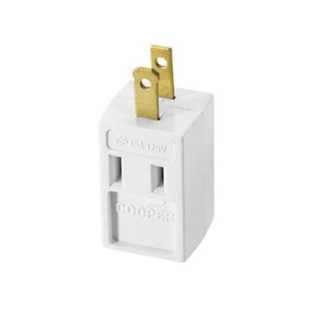 Ace Tap Cube Outlet Adapters - White, 15 Amp