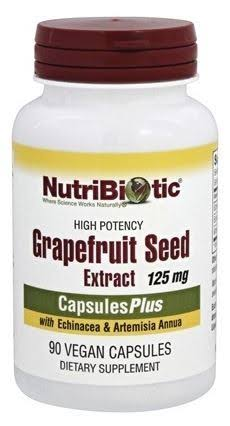 NutriBiotic Grapefruit Seed Extract - 90 Vcaps